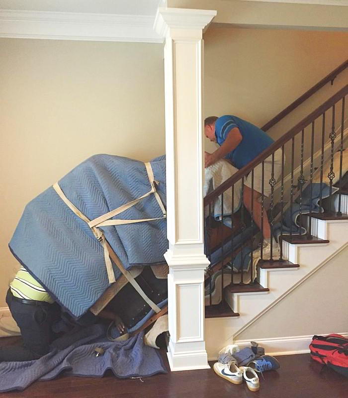 Moving a Grand Piano in Montgomery, AL