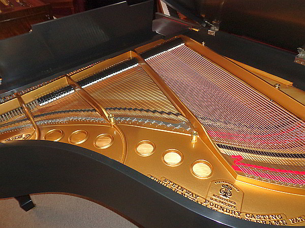 Steinway Baby Grand Piano For Sale Refinished Plate