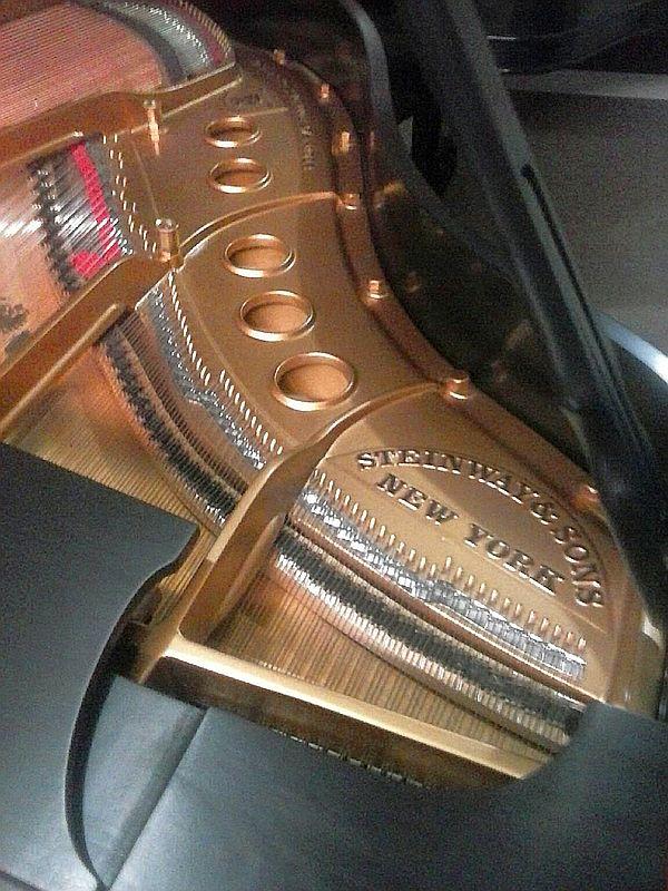 1942 Steinway - new pinblock