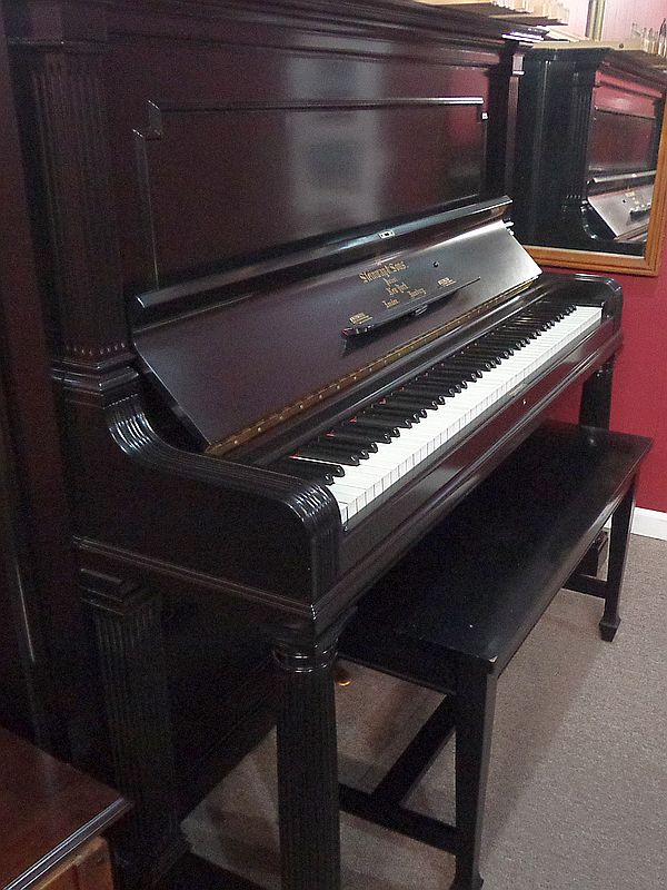 Steinway Upright - NEW strings and hammers