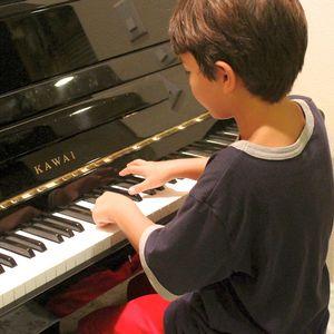 Piano Teacher in Union Springs, Alabama - young boy playing piano