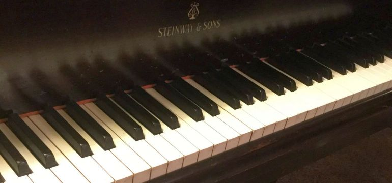 Piano Keys Steinway & Sons - O'Bryan Piano Studio
